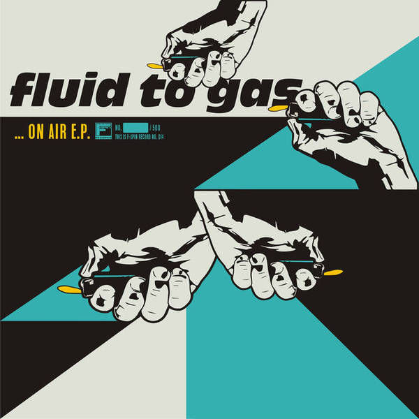 FLUID TO GAS, on air ep cover