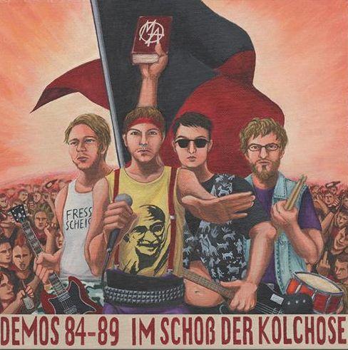 MÜLHEIM ASOZIAL, demos. im schoß der kolschose cover