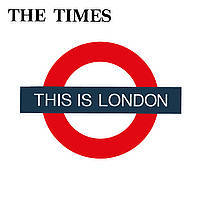THE TIMES, this is london cover
