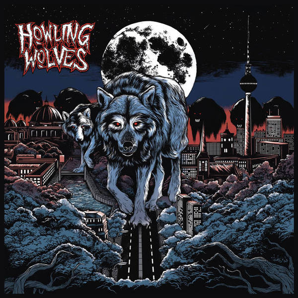 Cover HOWLING WOLVES, s/t