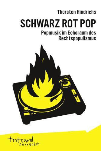 THORSTEN HINDRICHS, schwarz rot pop - popmusik im echoraum cover