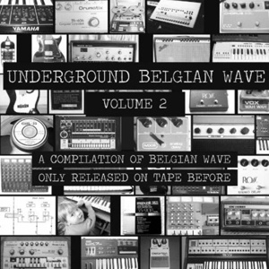 Cover V/A, underground belgian wave vol. 2