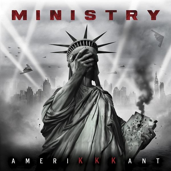 MINISTRY, ameriKKKant cover