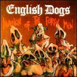 Cover ENGLISH DOGS, invasion of the porky men