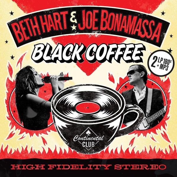BETH HART & JOE BONAMASSA, black coffee cover