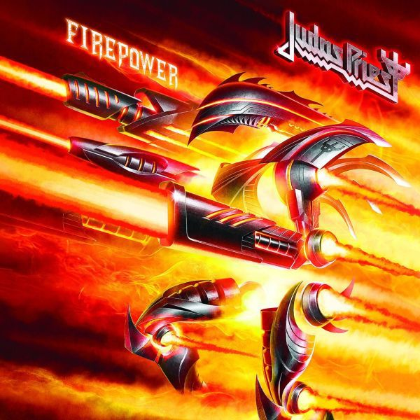 JUDAS PRIEST, firepower cover
