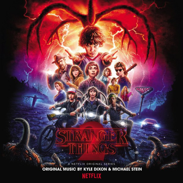 Cover O.S.T. (KYLE DIXON & MICHAEL STEIN), stranger things 2