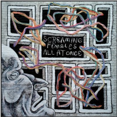 SCREAMING FEMALES, all at once cover