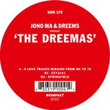 Cover JONO MA & DREEMS, the dreemas