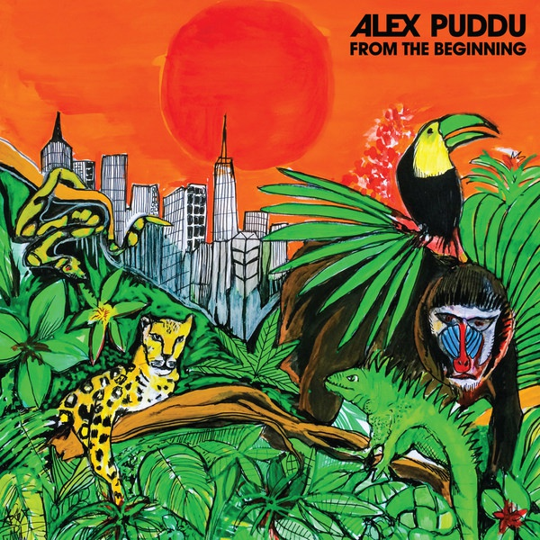 ALEX PUDDU, from the beginning cover