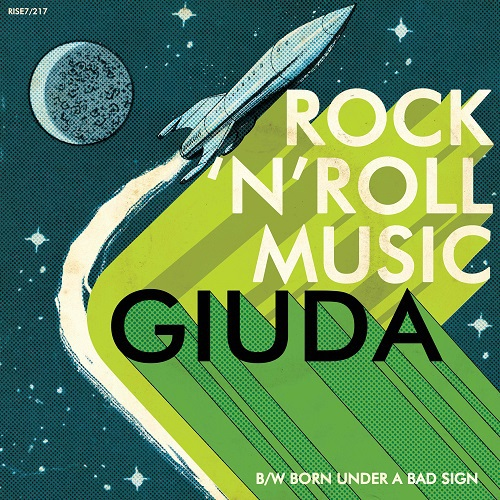 GIUDA, rock´n´roll music cover
