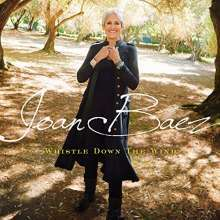 JOAN BAEZ, whistle down the wind cover