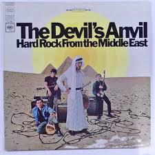 DEVIL`S ANVIL, hard rock from the middle east cover