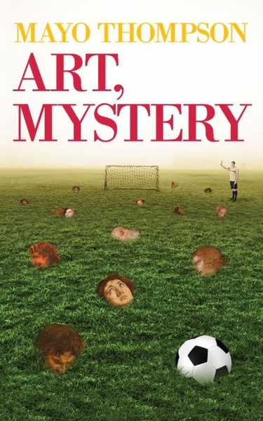 MAYO THOMPSON, art, mystery cover