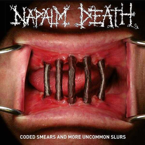 NAPALM DEATH, coded smears and more uncommon slurs cover