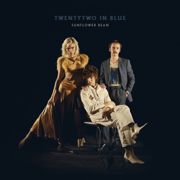 SUNFLOWER BEAN, twentytwo in blue cover
