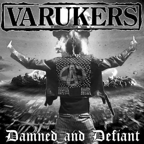 VARUKERS, damned and defiant cover
