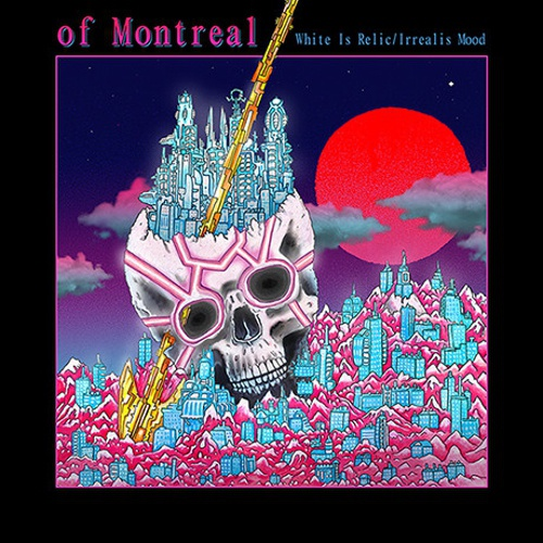 Cover OF MONTREAL, white is relic/irrealis mood