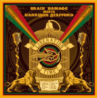 Cover BRAIN DAMAGE & HARRISON STAFFORD, liberation time