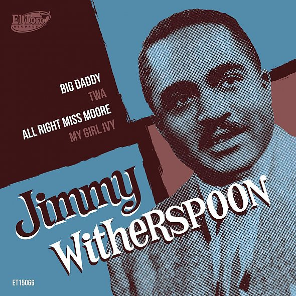 Cover JIMMY WITHERSPOON, big daddy
