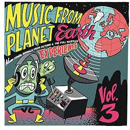 Cover V/A, music from planet earth 3