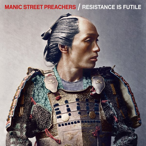 MANIC STREET PREACHERS, resistance is futile cover
