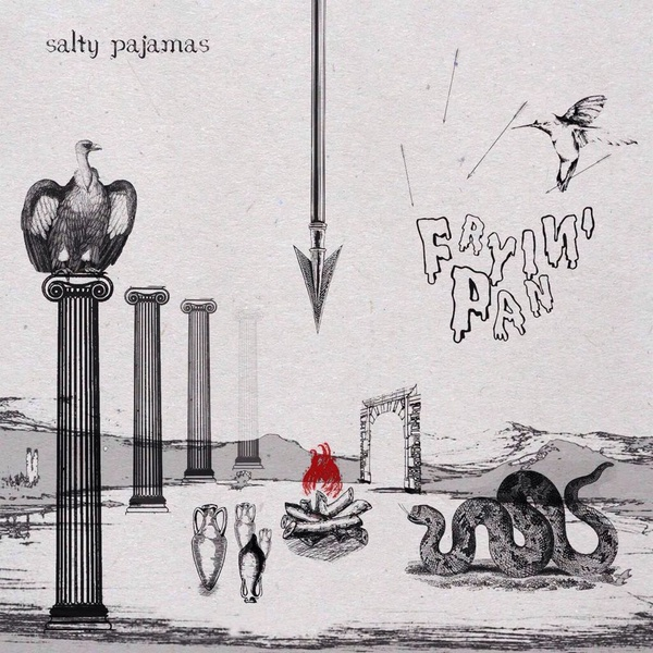 Cover SALTY PAJAMAS, fryin´pan