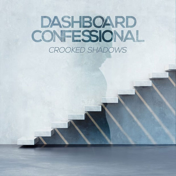 Cover DASHBOARD CONFESSIONAL, crooked shadows
