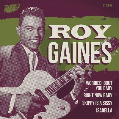 Cover ROY GAINES, worried `bout you baby