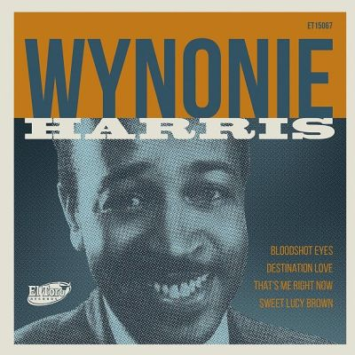 Cover WYNONIE HARRIS, bloodshot eyes