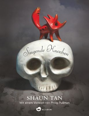 SHAUN TAN, singende knochen cover