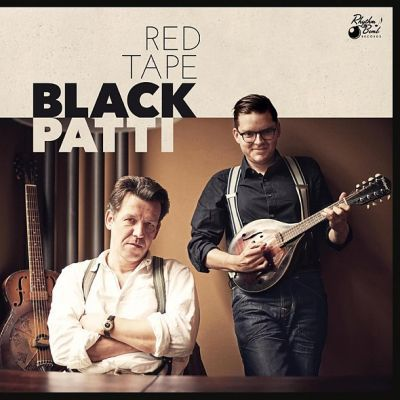 Cover BLACK PATTI, red tape