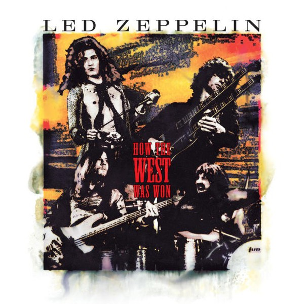 LED ZEPPELIN, how the west was won cover