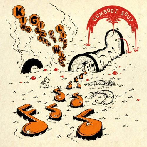 KING GIZZARD & THE LIZARD WIZARD, gumboot soup cover