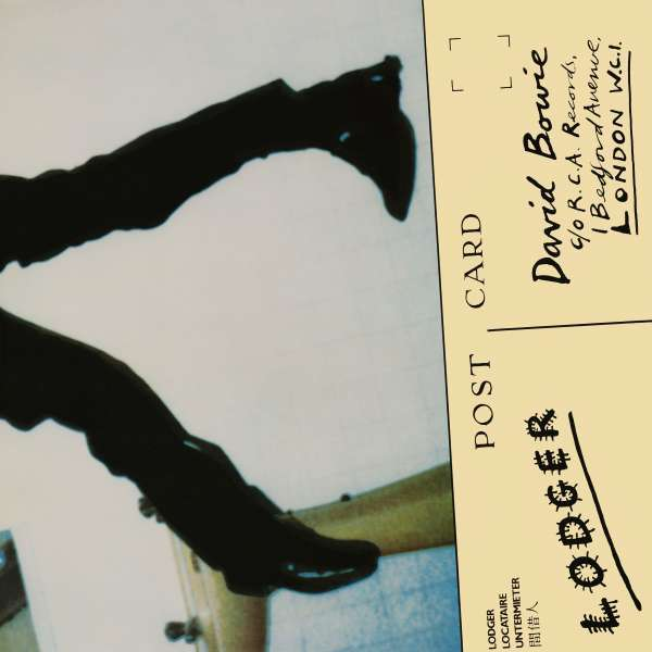 DAVID BOWIE, lodger cover