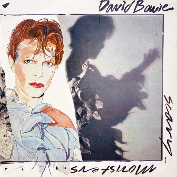 DAVID BOWIE, scary monsters (and super creeps) cover