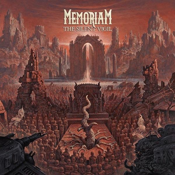 MEMORIAM, the silent vigil cover