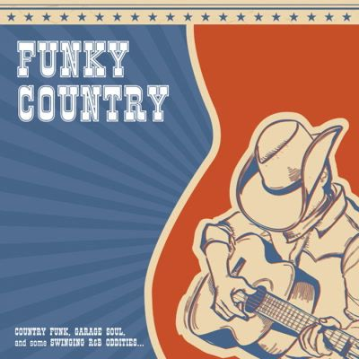 Cover V/A, funky country
