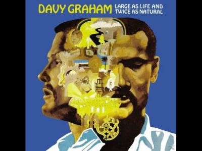 DAVY GRAHAM, large as life and twice as natural cover