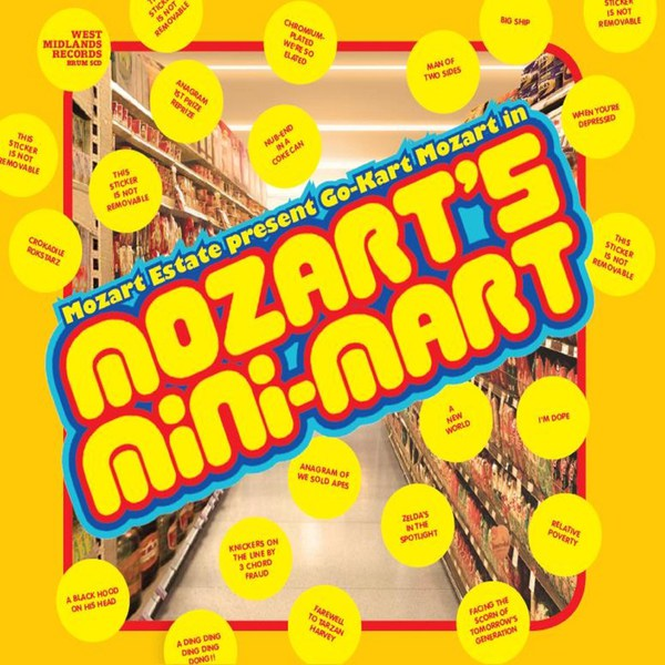 GO-KART MOZART, mozart´s mini-mart cover