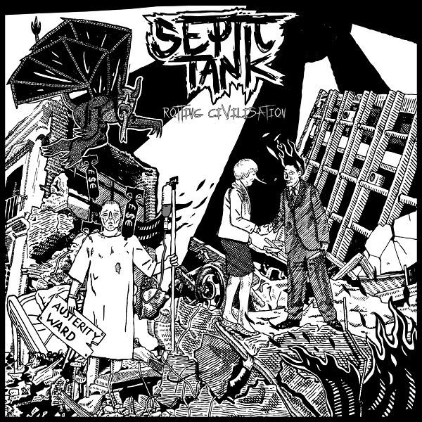 SEPTIC TANK, rotting civilisation cover