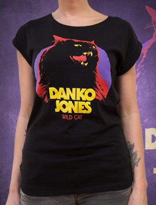Cover DANKO JONES, wild cat (girl) schwarz