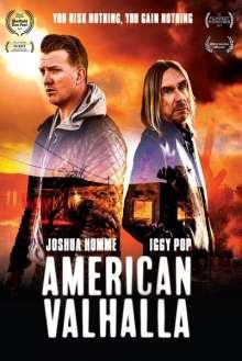IGGY POP & JOSH HOMME, american valhalla cover