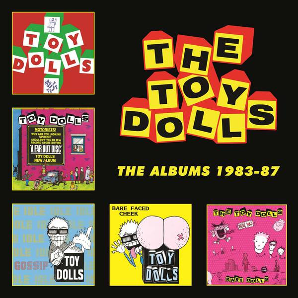 Cover TOY DOLLS, the albums 1983-87