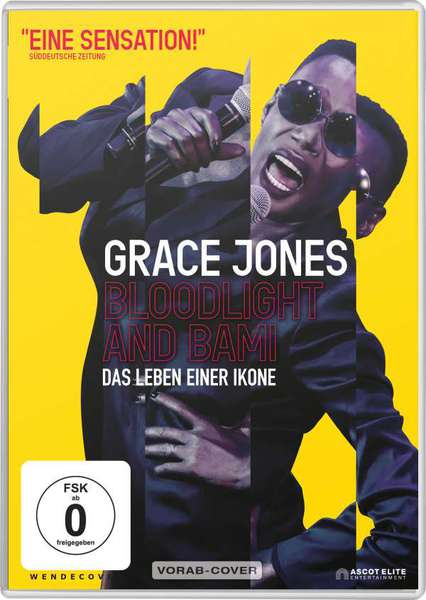 GRACE JONES, bloodlight and bami cover