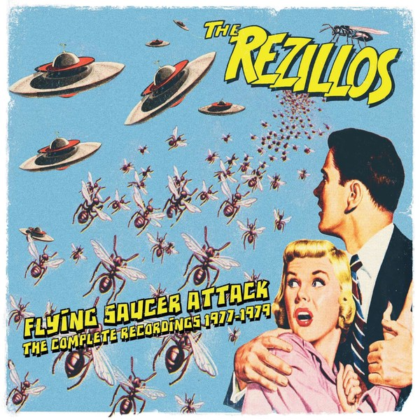 REZILLOS, flying saucer attack - complete recordings 1977-79 cover