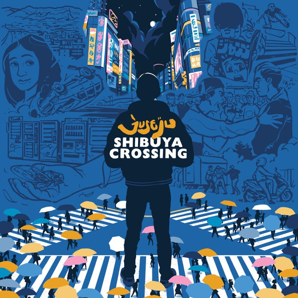 JUSE JU, shibuya crossing cover