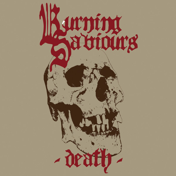 BURNING SAVIOURS, death cover