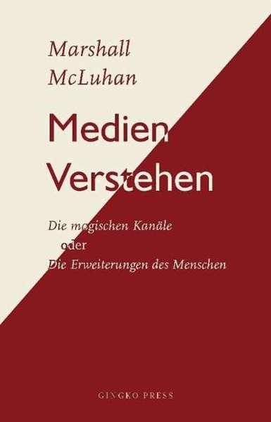 MARSHALL MCLUHAN, medien verstehen cover