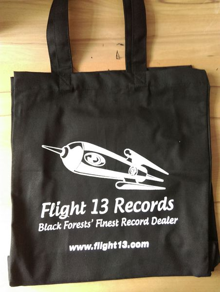 Cover FLIGHT 13, tote bag_rocket black